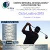 CIEC- Ciclo Lectivo 2015- Abierta la inscripción al Ciclo 3-Profesional del Golf